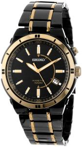 Đồng hồ Seiko Men's SKA366 Stainless Steel Two-Tone Kinetic Dress Watch