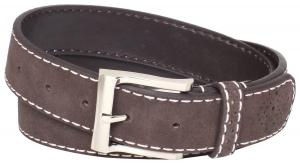 Dây lưng Florsheim Men's Casual Genuine Suede Leather Belt with Contrast Stitched Edge