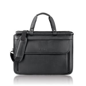 Túi Solo Classic Collection Triple Compartment Briefcase, Black (K42-4)