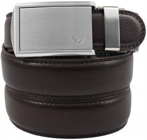 Dây lưng SlideBelts Men's Winged Silver Leather Ratchet Belt - Custom Fit