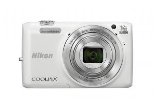 Máy ảnh Nikon COOLPIX S6800 16 MP Wi-Fi CMOS Digital Camera with 12x Zoom NIKKOR Lens and 1080p HD Video (White)