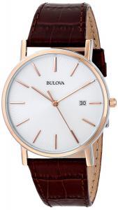 Đồng hồ Bulova Men's 98H51 Leather Dress Watch