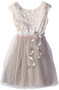 Váy Speechless Big Girls' Cap Sleeve Glitter Brocade Dress
