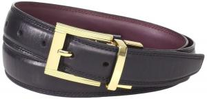 Dây lưng Florsheim Men's Full Grain Leather Reversible Belt 30MM