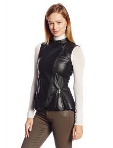 Áo Kenneth Cole New York Women's Nichole Leather Vest