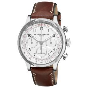 Đồng hồ Baume & Mercier Men's 10000 Capeland Silver Chronograph Dial Watch