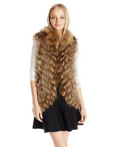 Áo khoác BCBGMAXAZRIA Women's Sarah Fur Vest