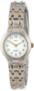 Đồng hồ Timex Women's T27191 Elevated Classics Dress Sport Chic Two-Tone Bracelet Watch