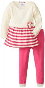 Quần áo Speechless Little Girls' Lace Top Legging Set