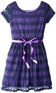 Váy Speechless Big Girls' Ribbon Lace Dress