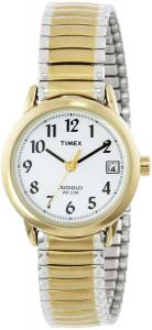 Đồng hồ Timex Women's T2H381 Easy-Reader Two-Tone Expansion Band Watch