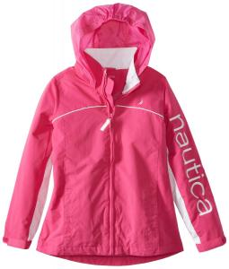 Áo khoác Nautica Big Girls'  Lightweight Shell Jacket