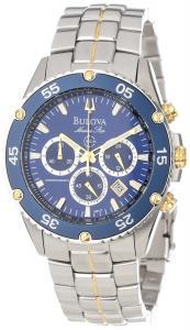 Đồng hồ Bulova Men's 98H37 Marine Star Chronograph Watch