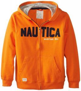 Áo khoác Nautica Big Boys' Fleece Front-Zip Hoody Sweatshirt