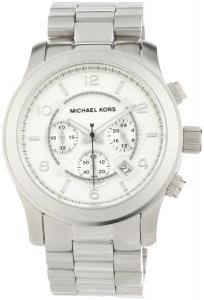 Đồng hồ Michael Kors Men's MK8086 Runway Silver-Tone Watch