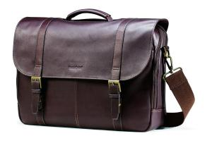 Cặp Samsonite Colombian Leather Flapover Case