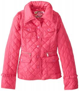 Áo khoác Dollhouse Big Girls'  Diamond-Quilted Midweight Barn Jacket
