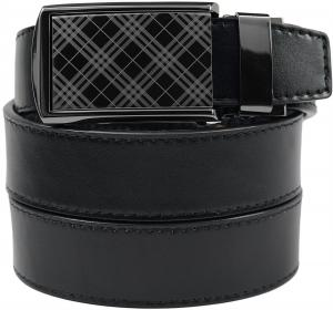 Dây lưng SlideBelts Men's Tartan Gunmetal Leather Belt - Custom Fit