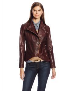 Áo khoác Elie Tahari Women's Beverly Leather Jacket