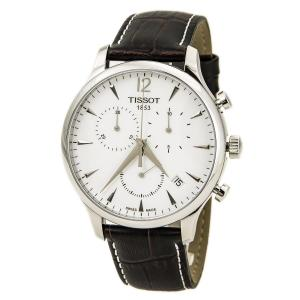 Đồng hồ Tissot T Classic Tradition Chronograph Silver Dial Mens Watch T0636171603700