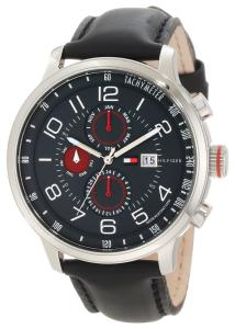 Đồng hồ Tommy Hilfiger Men's 1790859 Stainless Steel Watch with Leather Band