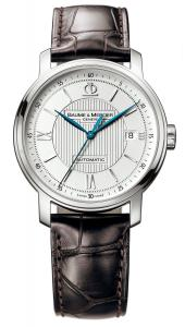 Đồng hồ Baume & Mercier Men's 8791 Classima Automatic Leather Strap Watch