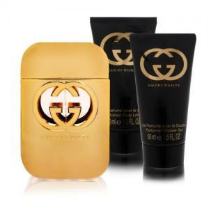 Nước hoa Gucci Guilty 3 Piece Gift Set for Women (Eau de Toilette Spray Plus Body Lotion Plus Shower Gel)