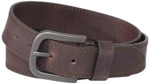 Dây lưng Dickies Mens 38mm Leather Belt With Two Row Stitch
