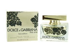 Nước hoa Dolce & Gabbana The One Eau De Parfum Spray Lace Edition for Women, 1.7 Ounce