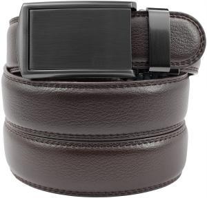 Dây lưng SlideBelts Men's Gunmetal Leather Belt - Custom Fit
