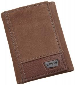 Ví Levi's Mens Trifold Two-Tone Wallet