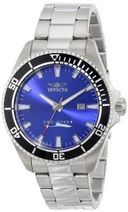 Đồng hồ Invicta Men's 15184SYB Pro Diver Blue Dial Stainless Steel Watch with Impact Case