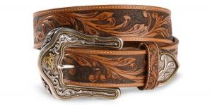 Dây lưng Tony Lama Men's Westerly Ride Leather Belt Reg And Big