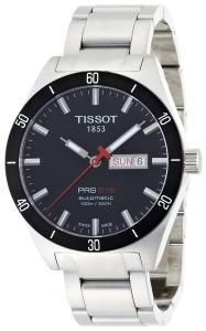 Đồng hồ Tissot Men's T0444302105100 PRS 516 Black Day Date Dial Watch
