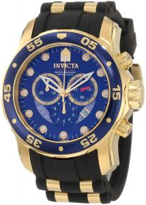 Đồng hồ Invicta Men's 6983 Pro Diver Collection Chronograph Blue Dial Black Polyurethane Watch