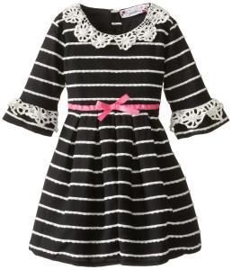 Váy Speechless Little Girls' Peter Pan Collar Eyelash Dress