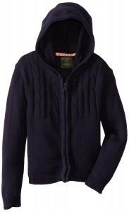 Áo khoác Eddie Bauer Little Girls'  Uniform Hooded Cable Knit Sweater