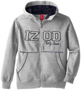 Áo khoác Izod Big Boys' Basic Fleece Full-Zip Hoodie