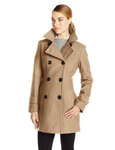 Áo khoác Anne Klein Women's Classic Double-Breasted Coat