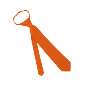 Cà vạt Solid Color Boys 14 Inch Zipper Tie - Jacob Alexander