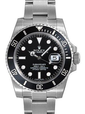 Đồng hồ Rolex Submariner Black Dial Ceramic Bezel Steel Mens Watch 116610LN