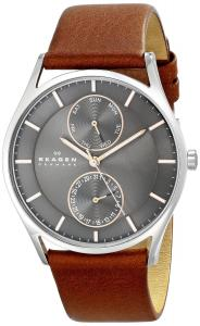 Đồng hồ Skagen Men's SKW6086 Holst Quartz/Multi Stainless Steel Dark Brown Watch