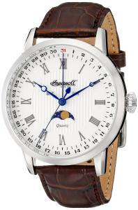 Đồng hồ Ingersoll Men's INQ027WHSL Oxford Analog Display Japanese Quartz Brown Watch