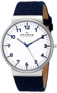 Đồng hồ Skagen Men's SKW6098 Ancher Quartz 3 Hand Stainless Steel Blue Watch