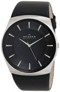 Đồng hồ Skagen Men's SKW6017 Havene Quartz 3 Hand Stainless Steel Black Watch