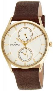 Đồng hồ Skagen Men's SKW6066 Holst Quartz/Multi Stainless Steel Dark Brown Watch