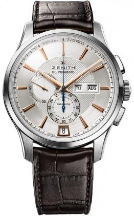 Đồng hồ New Mens Zenith El Primero Captain Winsor Annual Calendar Watch 03.2070.4054/02.C711