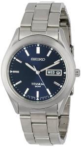 Đồng hồ Seiko Men's SGG709 Titanium Watch
