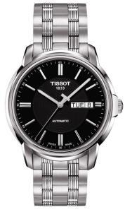 Đồng hồ Tissot Automatics III Black Dial Steel Mens Watch T065.430.11.051.00