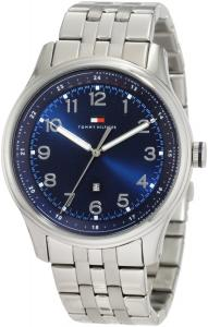 Đồng hồ Tommy Hilfiger Men's 1710308 Classic Stainless Steel and Blue Dial Bracelet Watch